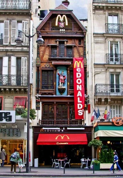 mcdo_insolite_à_Paris-McDonalds de la rue Saint Lazare -