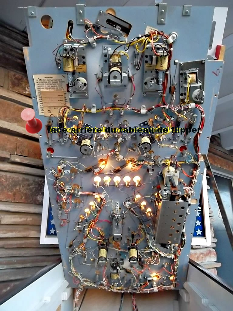 MECANISME-FLIPPER-ELECTROMECANIQUE