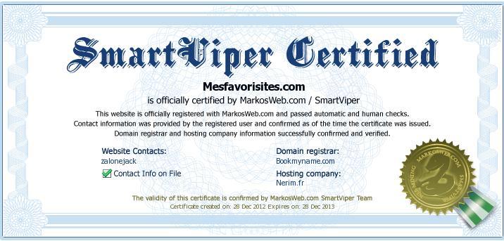 mesfavorisites-certifié-SMARTVIPER-2