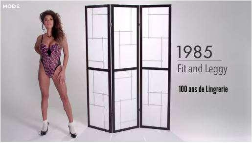 MODE 1985-100-ans-d`histoire-lingerie
