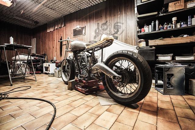 Motorbike Garage Repairs Hobby Automotive Build