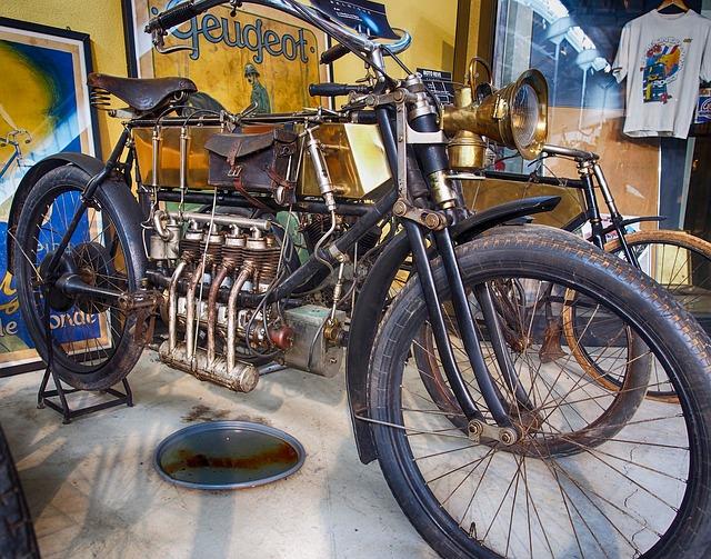 motorcycle-_Moto _Cycle_ Vélo_ Moteur _Vieux Oldster Classique