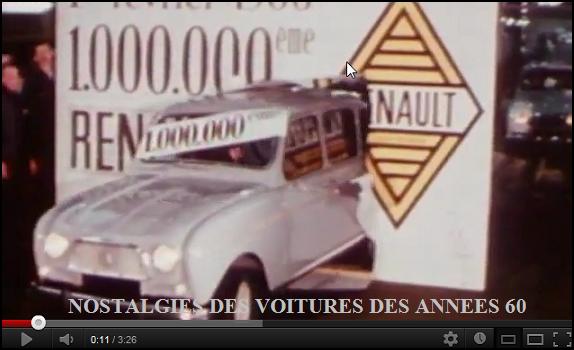 La 1 000 000 eme Renault 4 L _http://www.mesfavorisites.com/