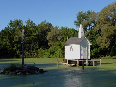 La plus petite église dans le monde