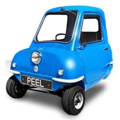 peel-50-voiture des années 60-recommercialisée