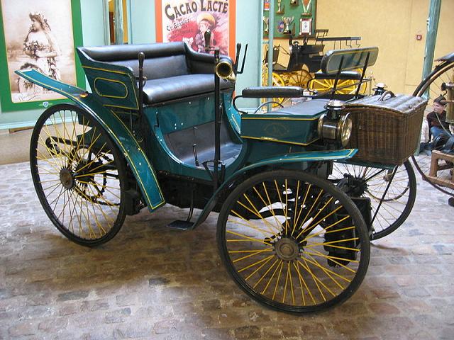 Peugeot- type -3 - moteur -Daimler -de -1891
