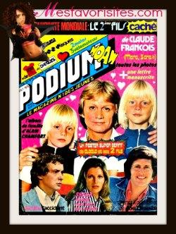 podium- le- magazine- de- claude- François - affiche_mesfavorisites.wifeo.com