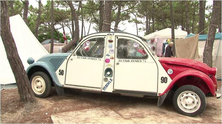 Portugal - 22e -rencontre -mondiale- de- la_ 2CV-Citroën