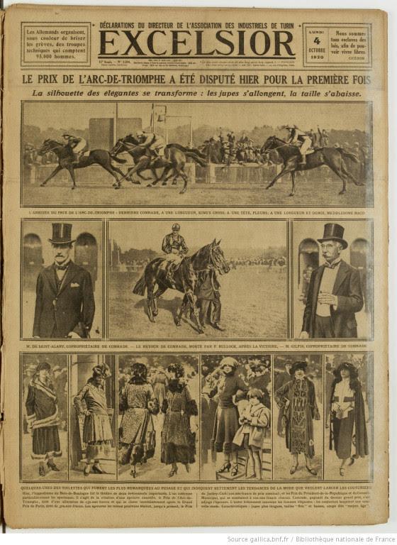 premier arc de triomphe 1920