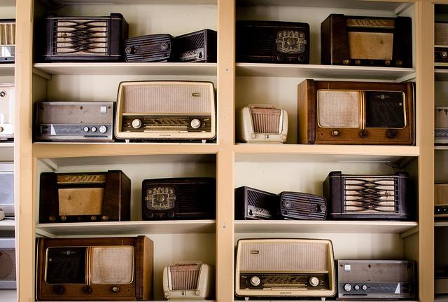 radio, vintage, années 1950, années 1960, antique, vieux, diffusion, rétro, équipement, fréquence