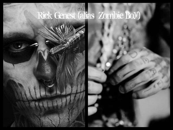 Rick Genest Boy Zombie L Homme Aux Tatouages Integrale Sur Notre Blog