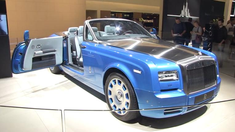 rolls_ royce _voiture_ collector_salon _ de_ l`auto_paris_2014​