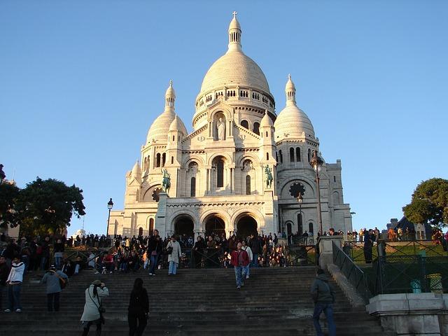 Sacré-Cur- de- Montmartre-Paris