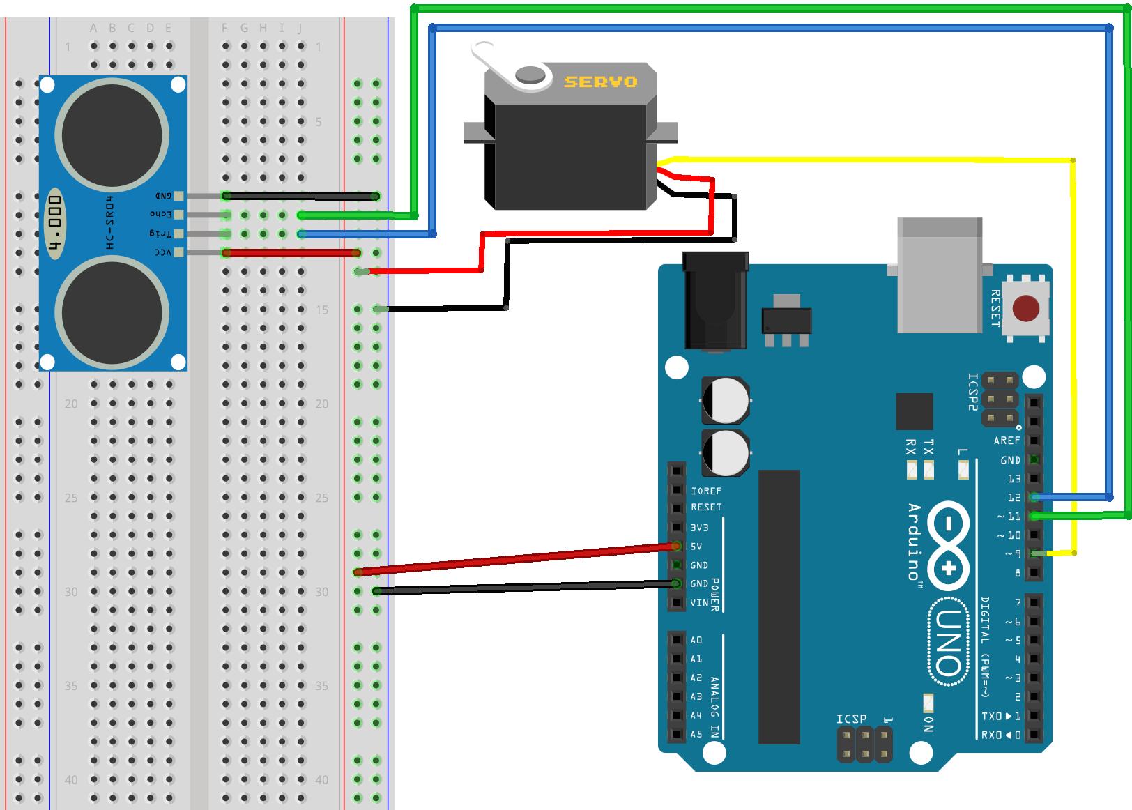 Servomoteur -Arduino