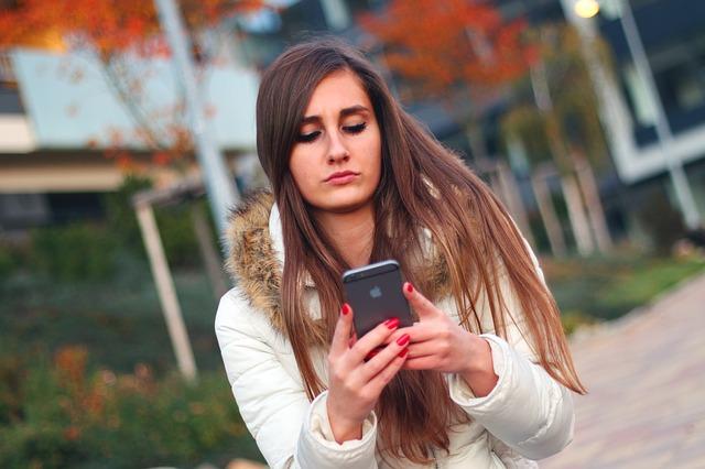 smartphone, femme, jeune fille, iphone, apple inc, touch, dispositif de, mobile, téléphone cellulaire,