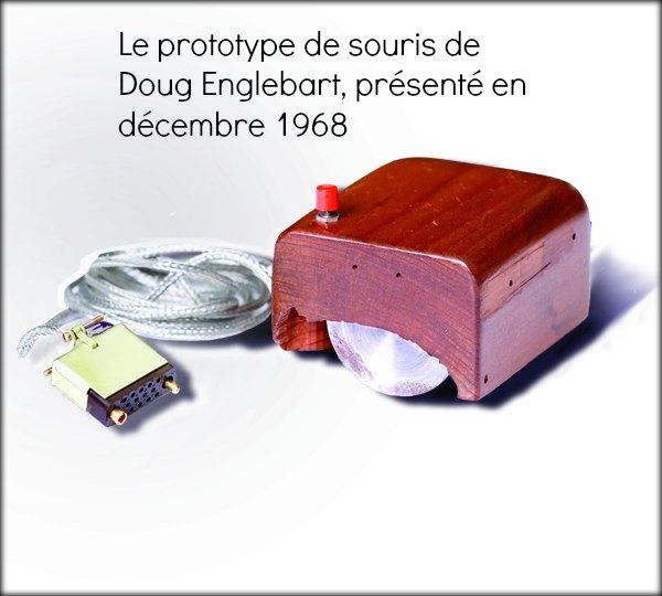 il est l 39 inventeur de la souris d 39 ordinateur sur notre blog. Black Bedroom Furniture Sets. Home Design Ideas