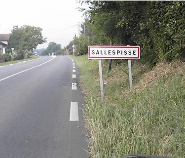 SALLEPISSE PANNEAU DE SIGNALISATION