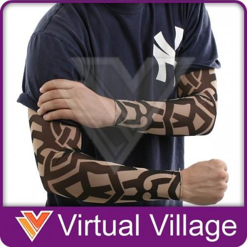 Tatouage- Manches -Bras Faux -Tribal- Noir -Tattoo