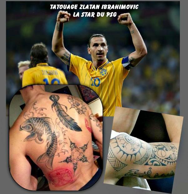 Tatouage_ Zlatan_ Ibrahimovic_ la _star_ du_ PSG