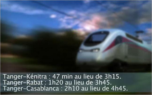 Maroc TGV  Tanger - Casablanca