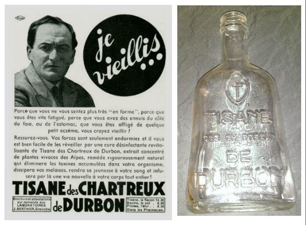 Tisane-des-chartreux-bouteille-publicité-affiche-1935