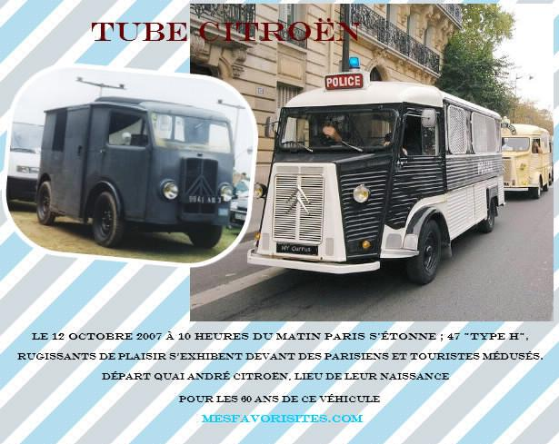 tube citroen type H