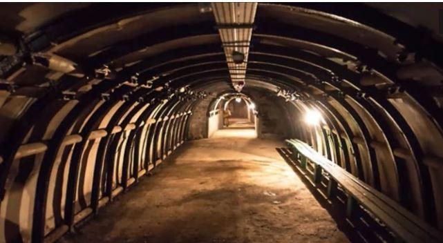tunnel-Découverte _exceptionnelle_ d`un train nazi