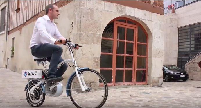 U-Feel -le- vélo- électrique- de -STEE