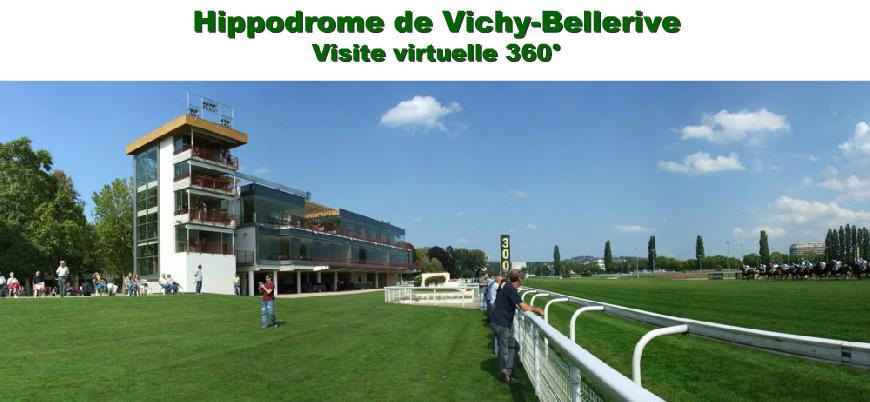 VISITE VIRTUEL HIPPODROME DE VICHY