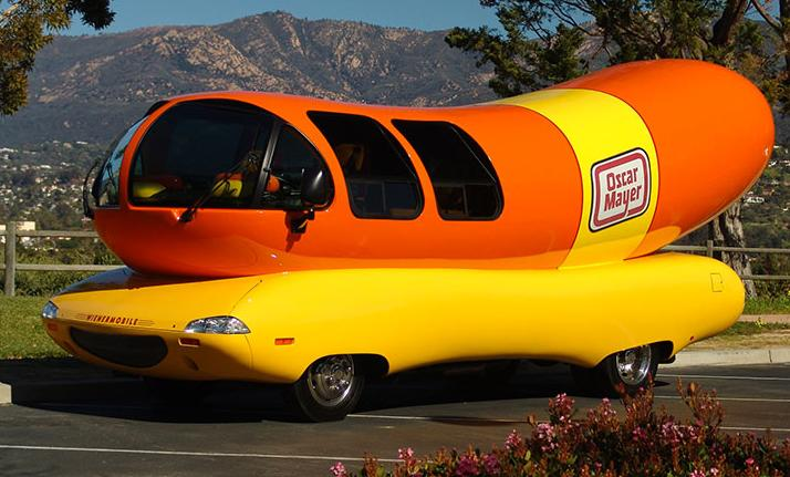 voiture _ hot-dog