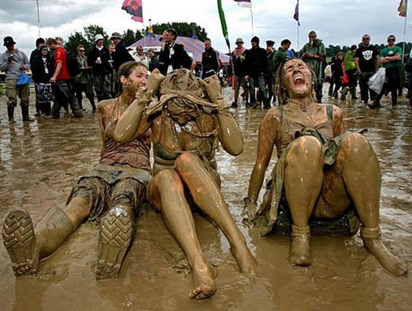 Glastonbury: 40 ans de rock boueux le festival